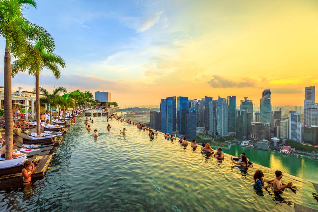 Infinity Pool Singapore Most Insane Swimming Pools