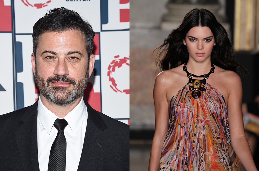 jimmy kimmel and kendall jenner