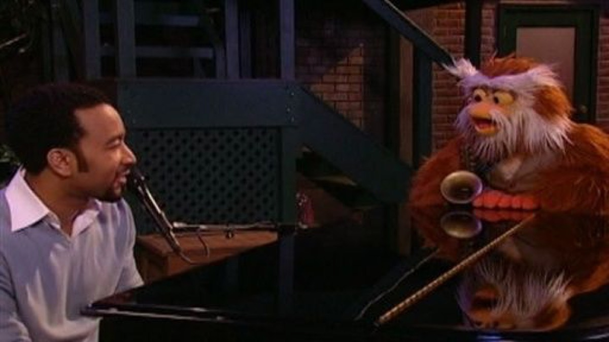 john legend performing on sesame street