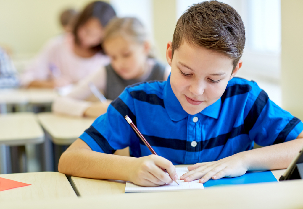 Kid Writing in Class 6th Grade English, ways parenting has changed