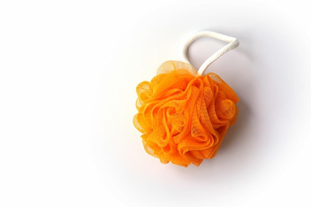 An Orange Loofah gross everyday habits