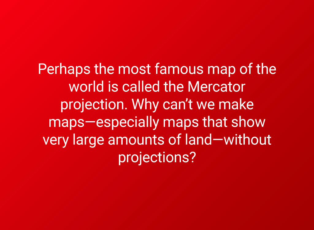 mercator projection question