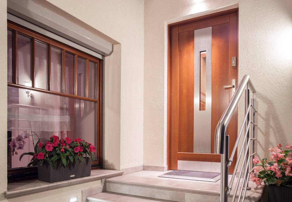 modern front door boosts your curb appeal