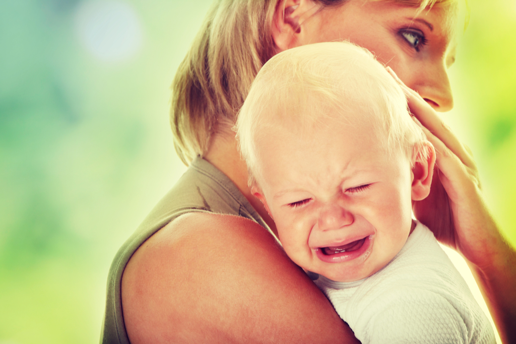 Mother with Crying Son Pay it Forward Stories