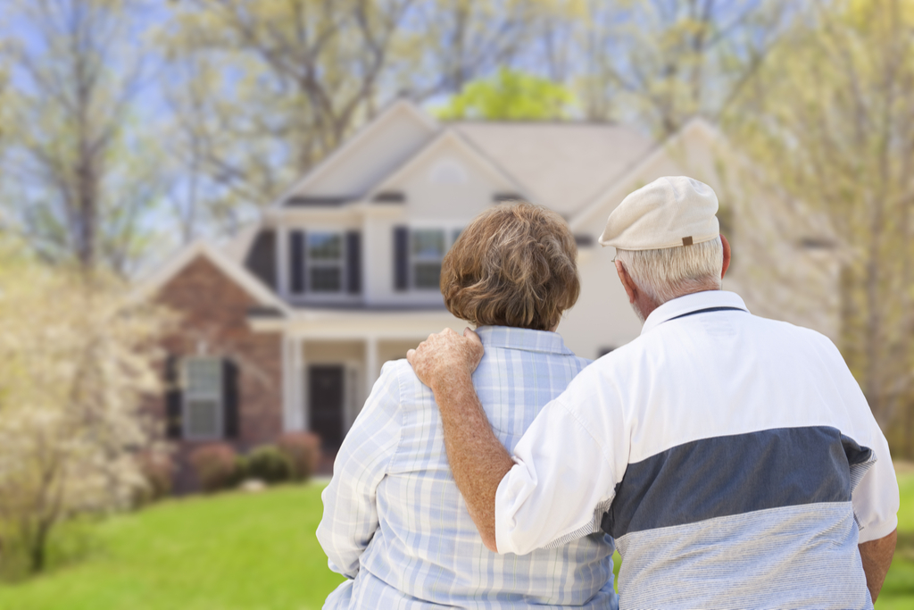 Older Couple Looking at Home Not Ready to Retire