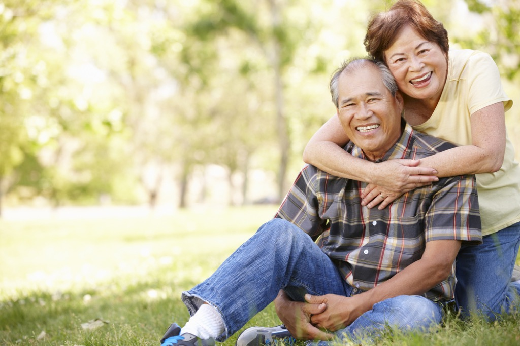older couple outdoors {priorities over 50}