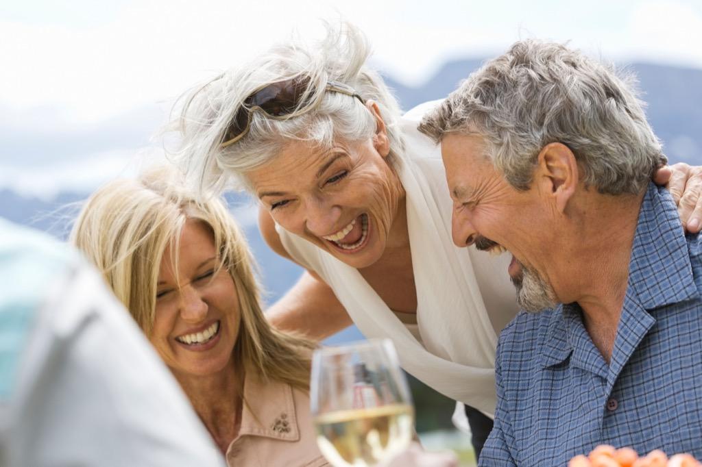 older people hanging out {risks you should take}