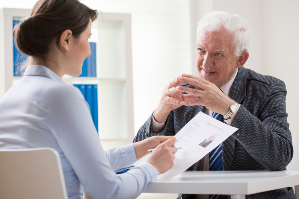Older Person Applying to Job Not Ready to Retire