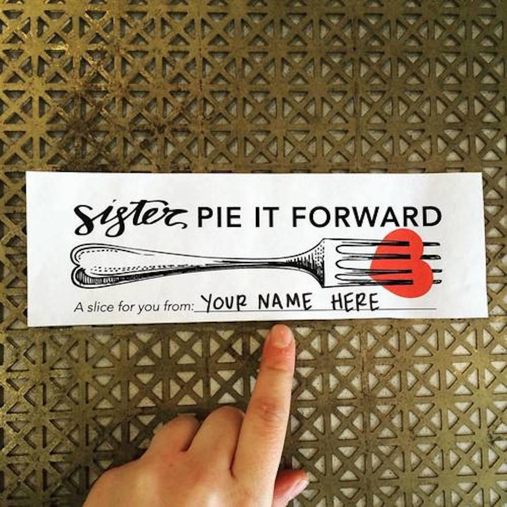 Pie-it-Forward Pay it Forward Stories