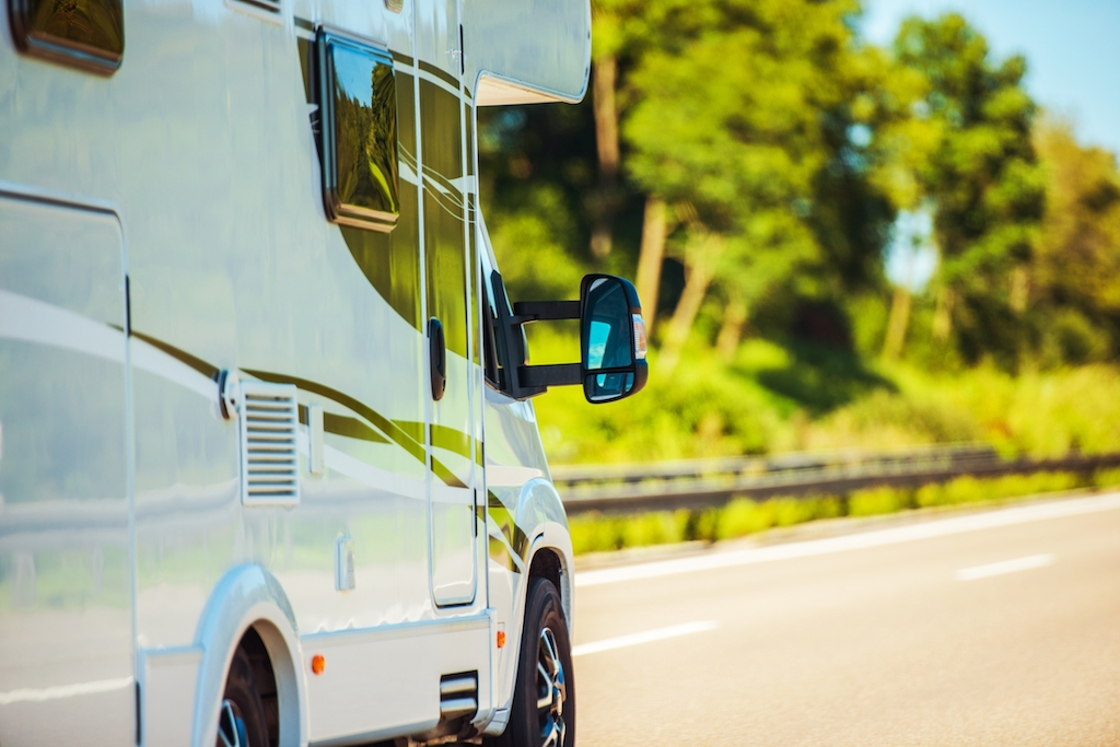 traveling and driving in an RV
