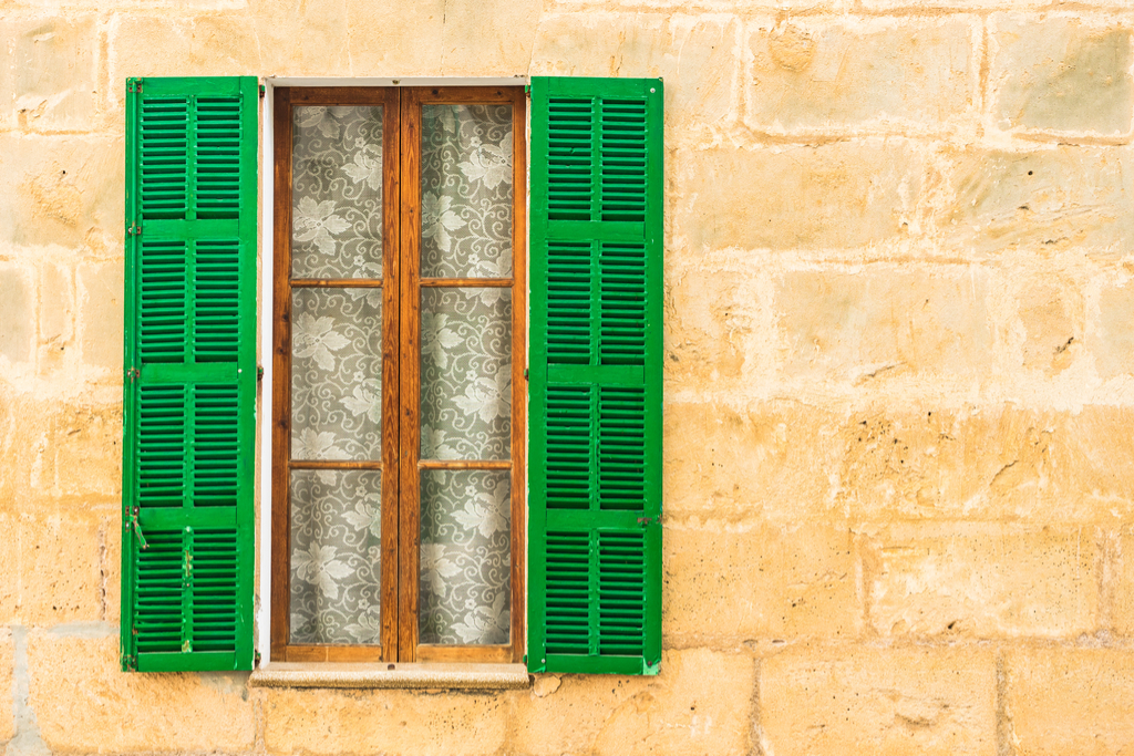 Shutters on Window Boosting Your Home's Curb Appeal