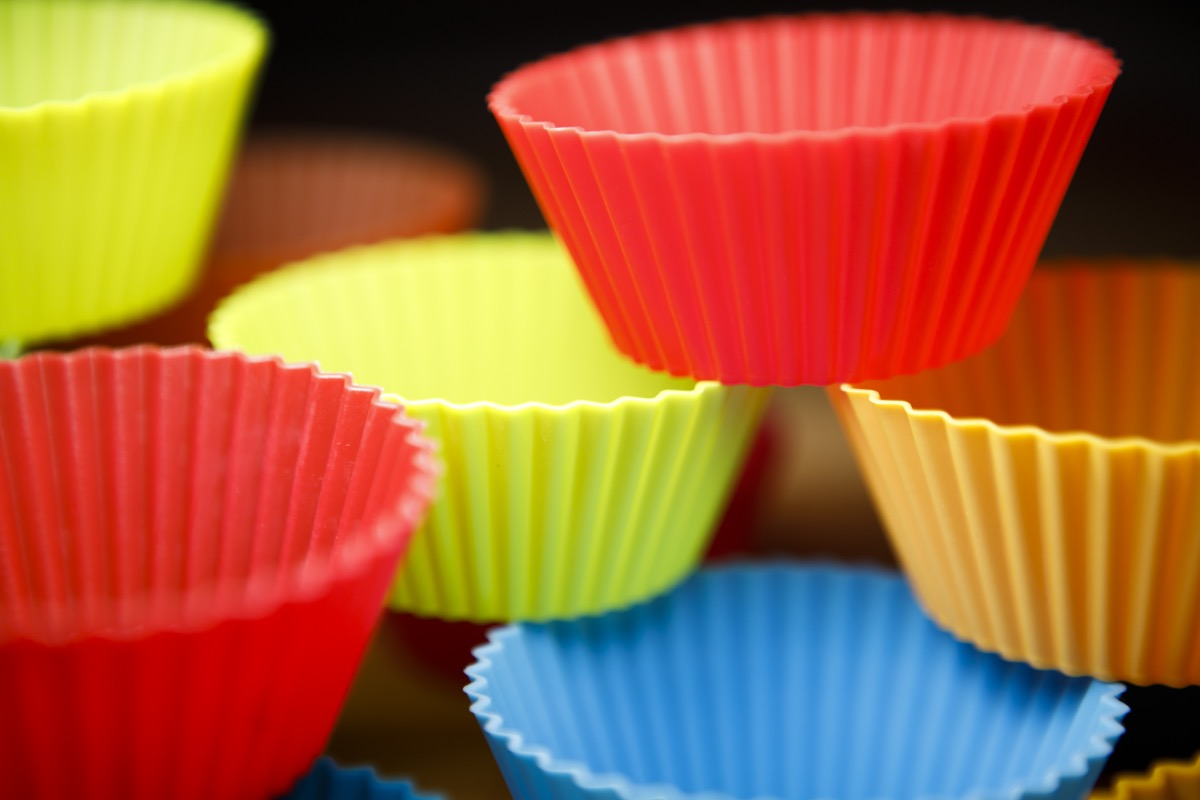 Colored cupcake holders