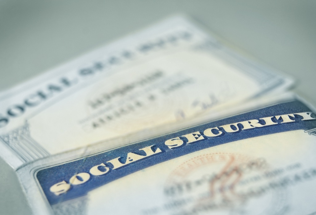 social security number things burglars know about your home