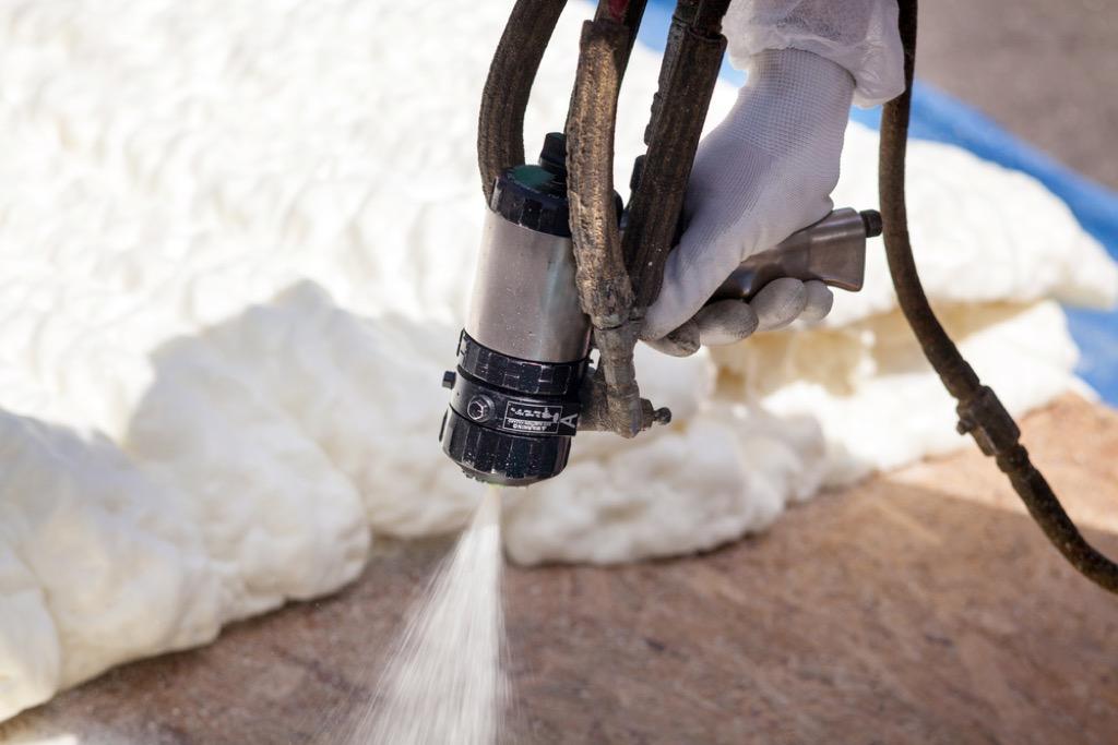 foam insulation garage upgrades