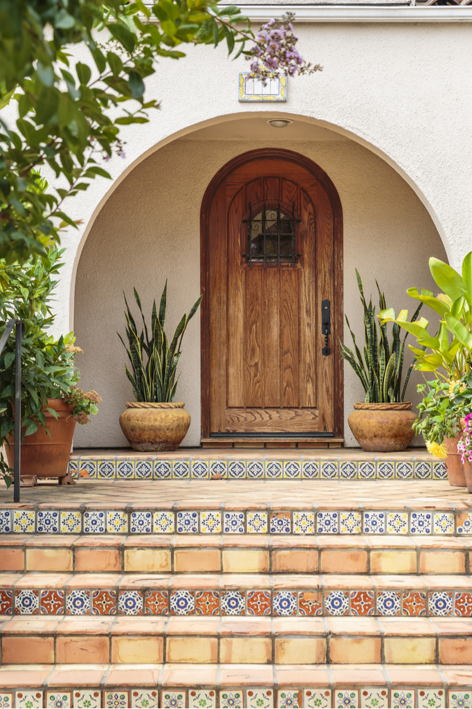 Stylish Entryway Boosting Your Home's Curb Appeal