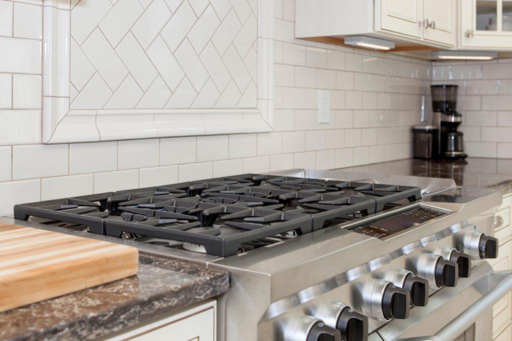 tile backsplash, home upgrades
