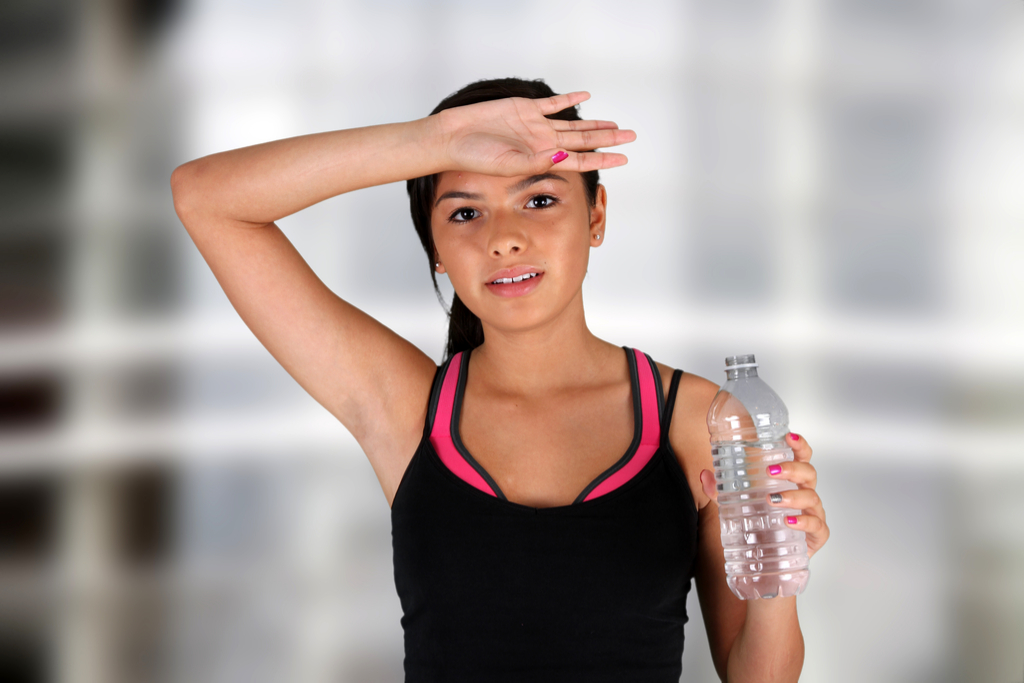 Sweating Teenager {Surprising Flu Symptoms}
