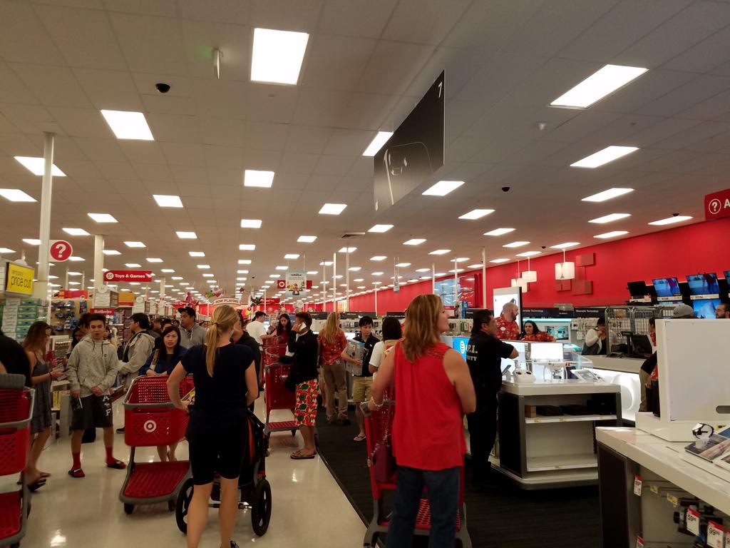 Target Cashiers {Target Black Friday}