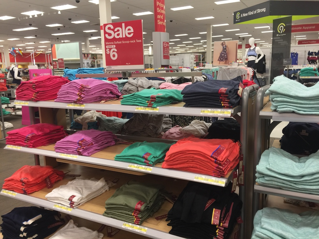 target sale section