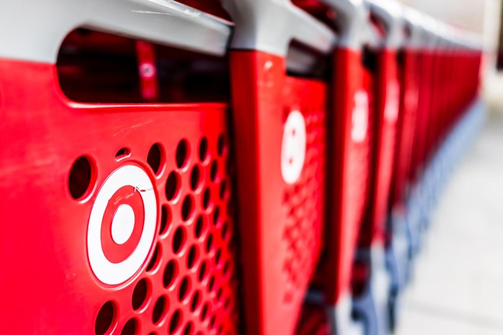 target bullseye shopping carts {Target Black Friday}