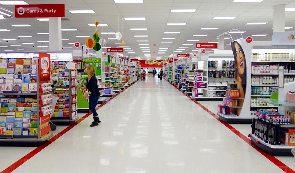 inside a target store {Target Black Friday}
