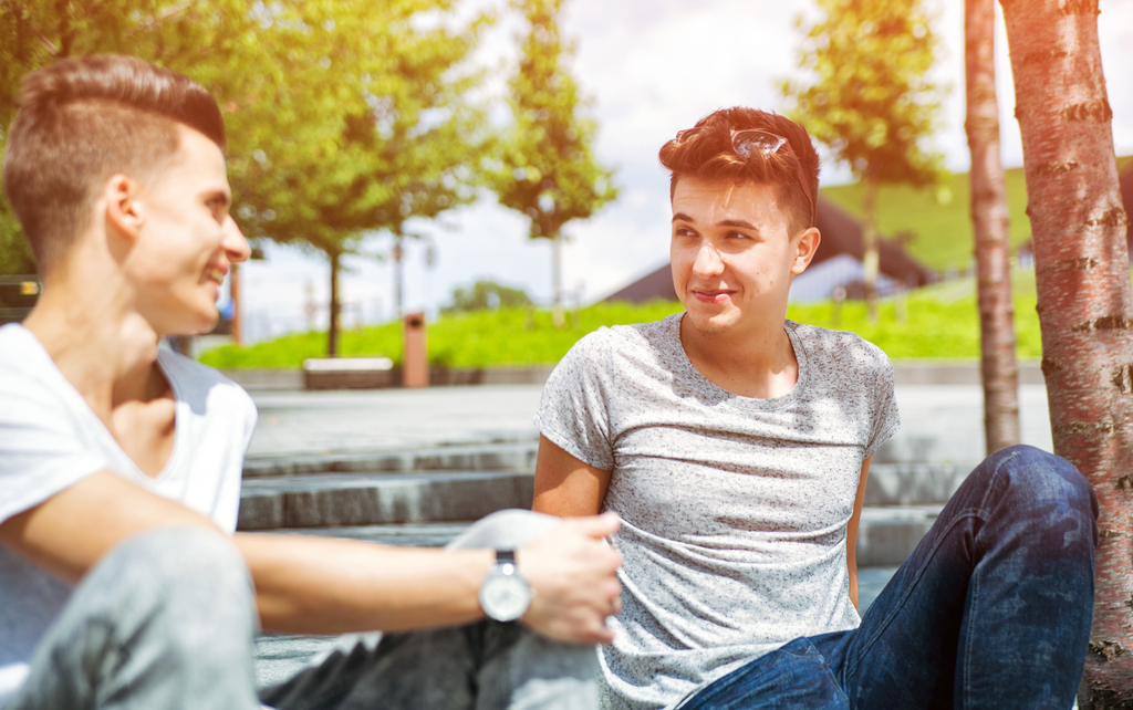 Teen Boys Talking Facts That Will Make You Happy You're Not a Teen Now