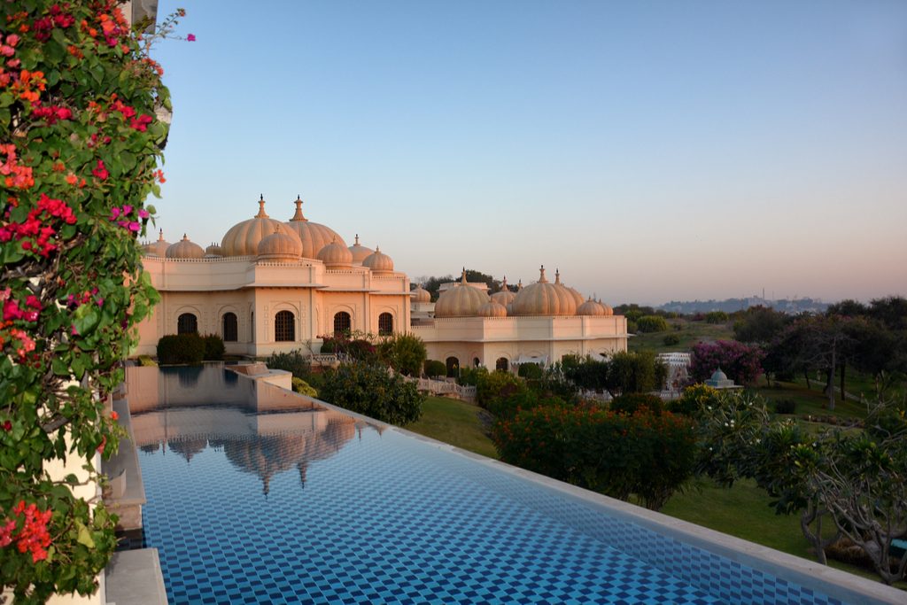 The Oberoi Udaivilas Pool Most Insane Swimming Pools