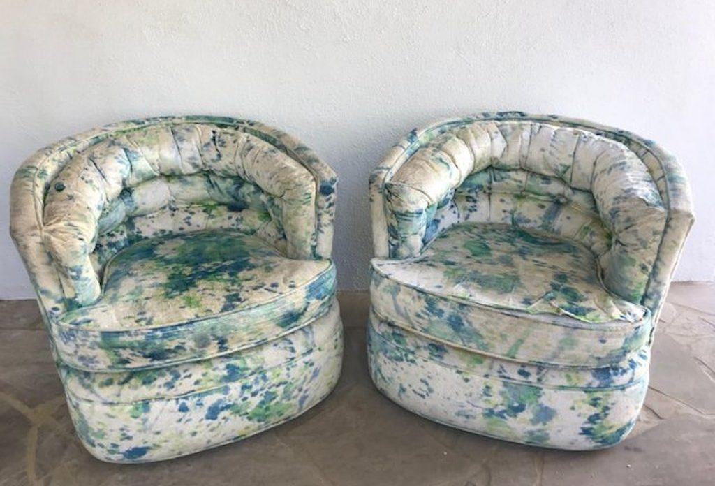 Tie-Dye Furniture Worst Interior Design Trends