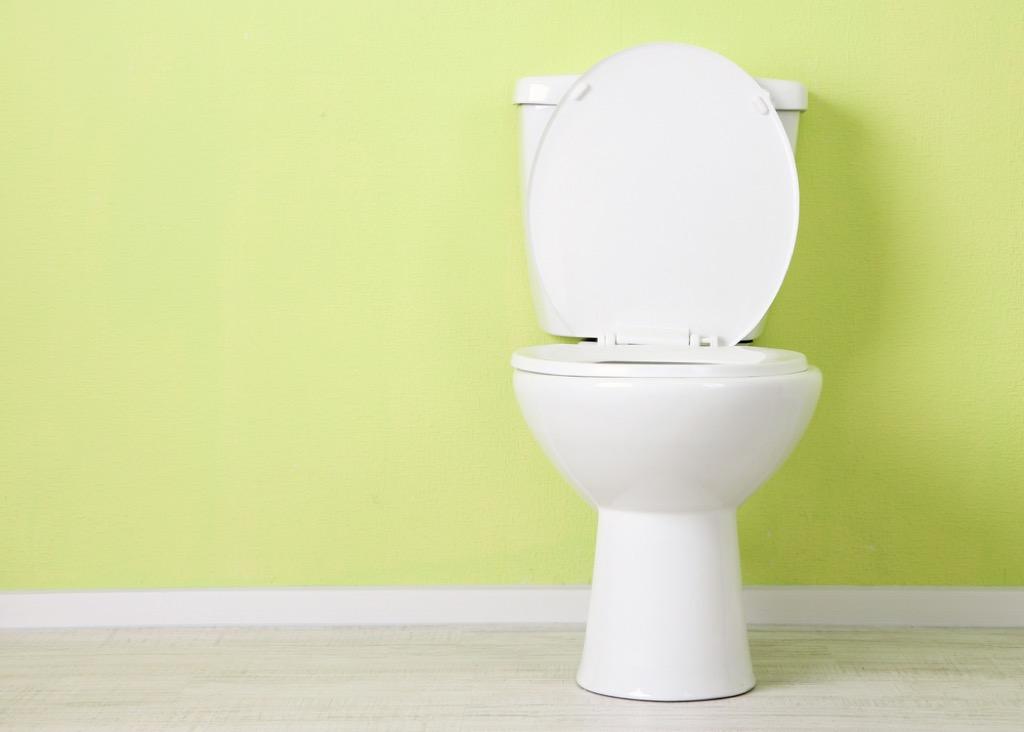open toilet strange house noises