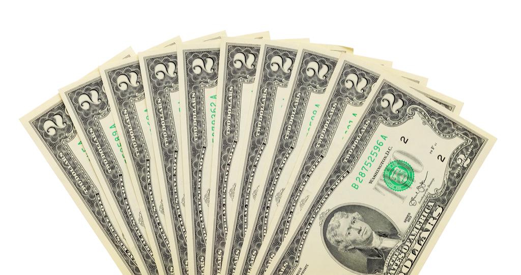 Two Dollar Bills Money Facts
