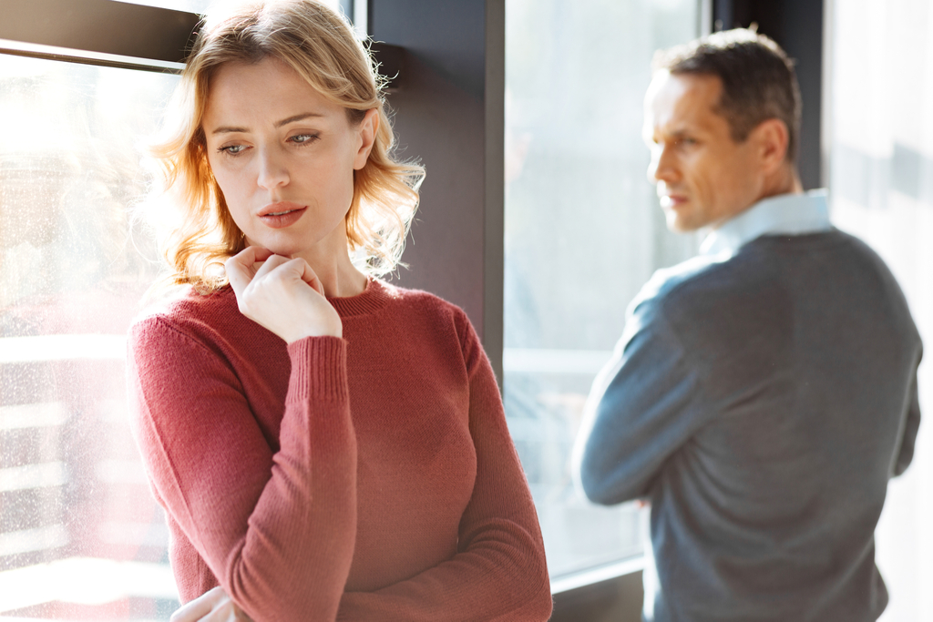 Unhappy Couple Red Flags Your Partner Wants to Leave You