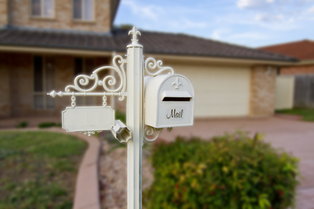 Unique Mail Box Boosting Your Home's Curb Appeal