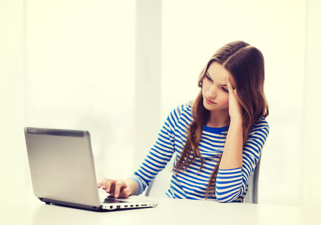 Upset Teen on Computer Facts That Will Make You Happy You're Not a Teen Now