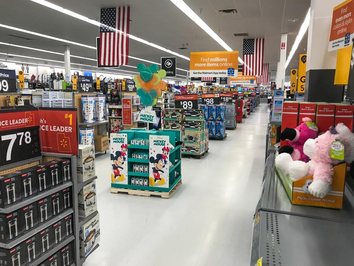 walmart aisle, walmart employee secrets