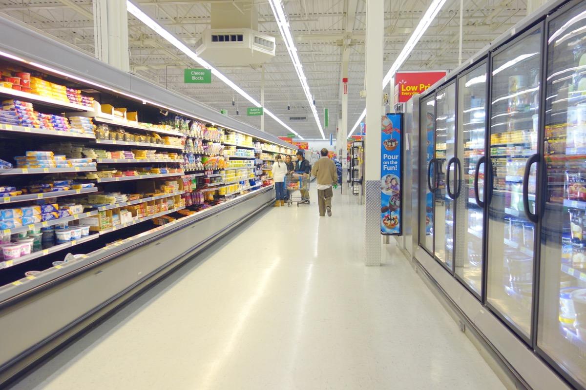 walmart grocery section, walmart employee secrets