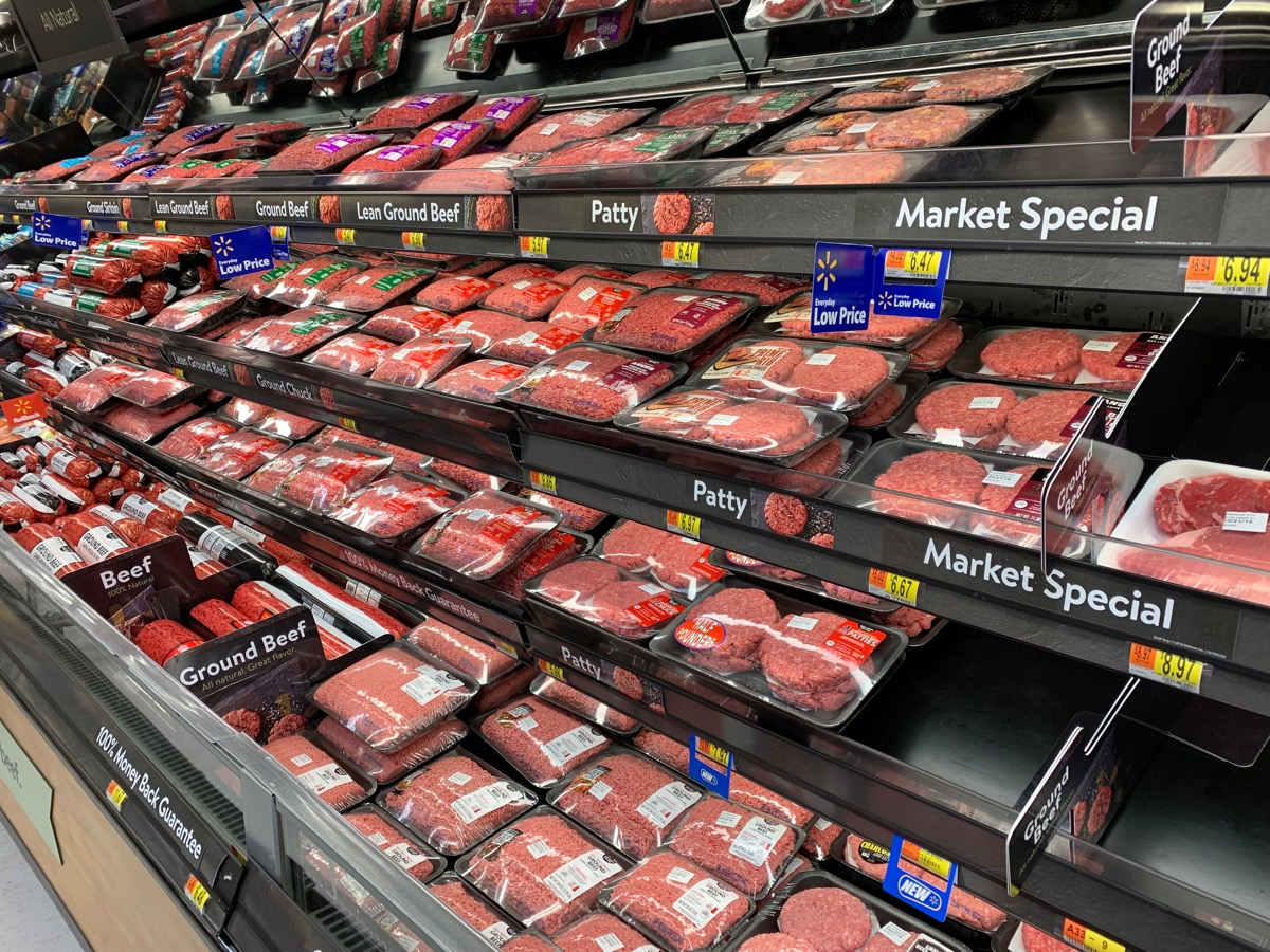 walmart meat section, walmart employee secrets