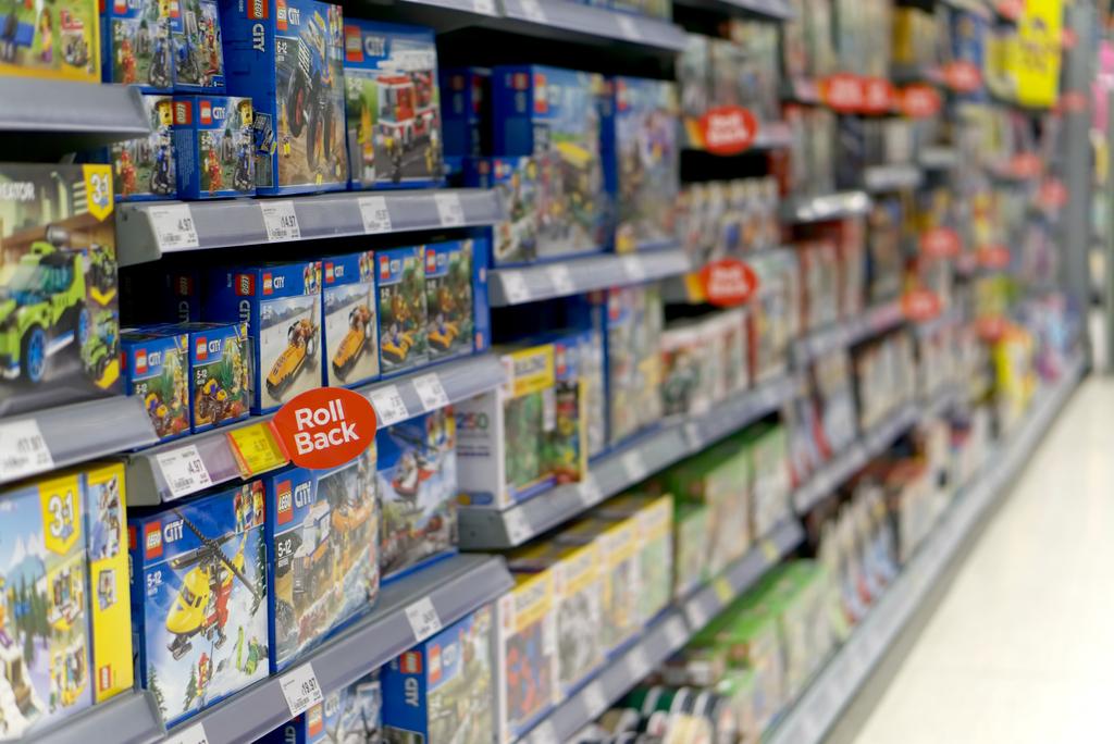 walmart toy aisle