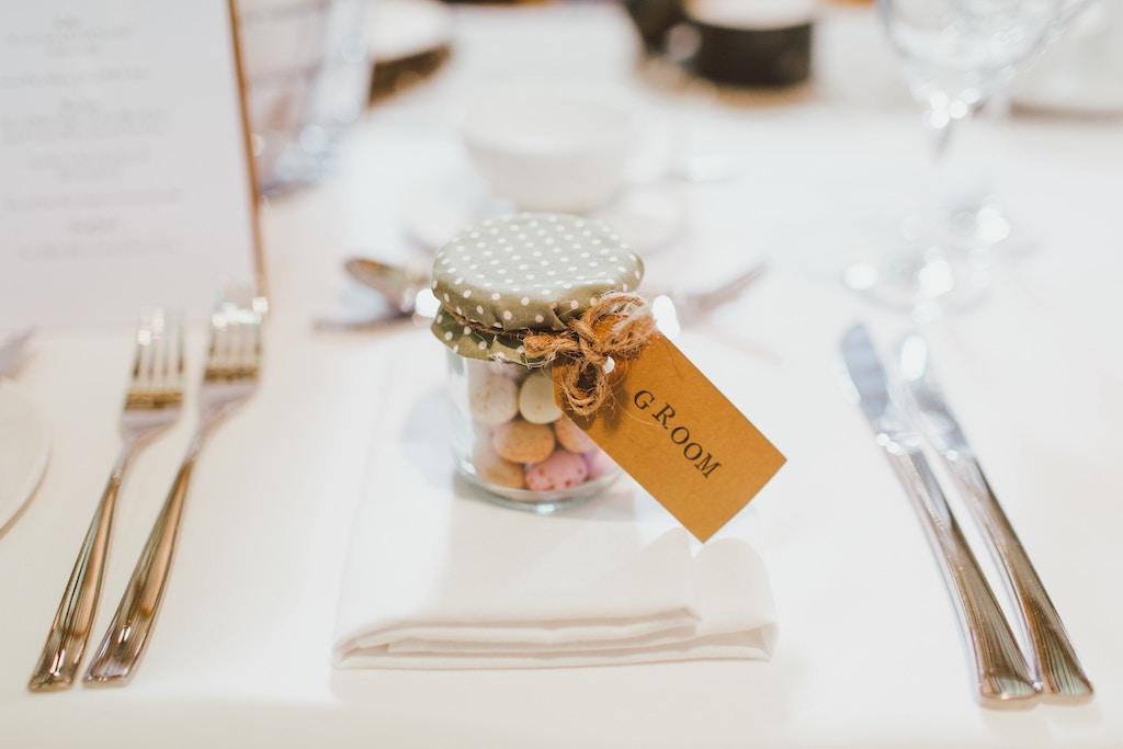 edible wedding party favor