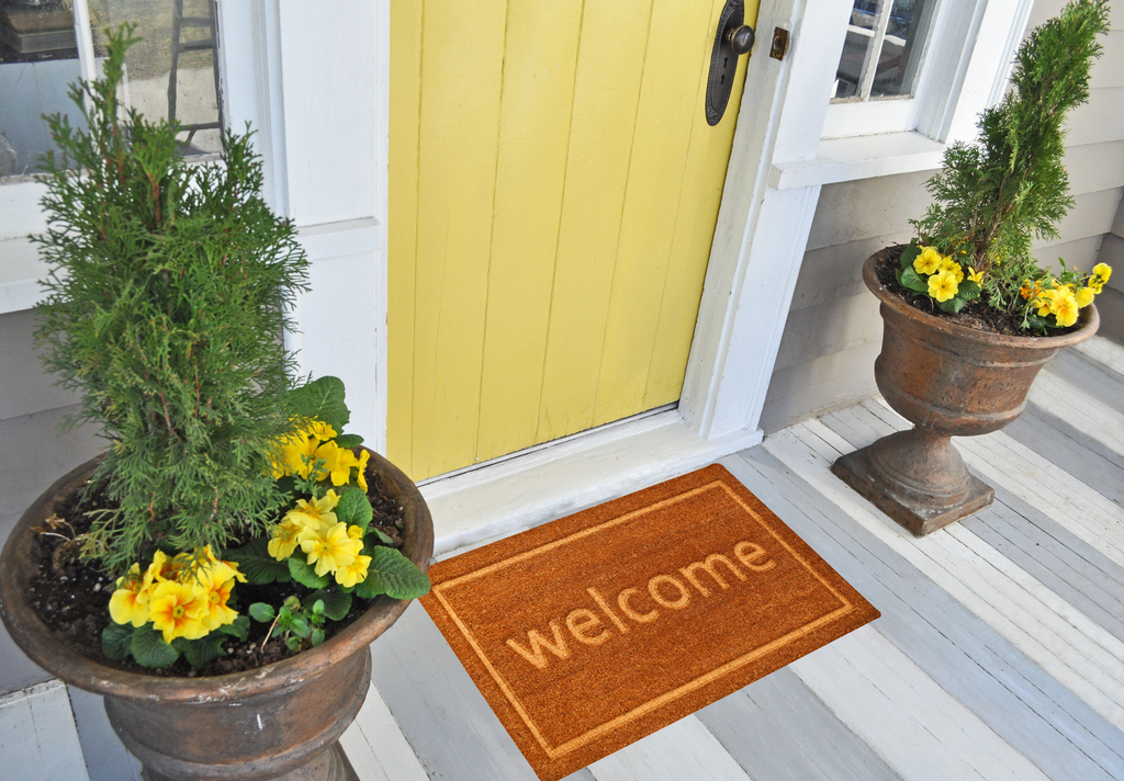 Welcome Mat Boosting Your Home's Curb Appeal