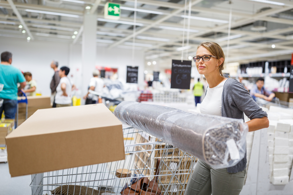 Woman Shopping at Ikea Surprising Facts about Ikea