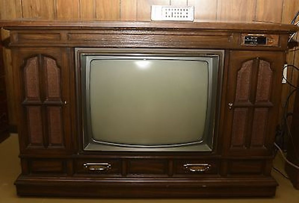 Wooden TV Cabinet Worst Home Decorating Trends
