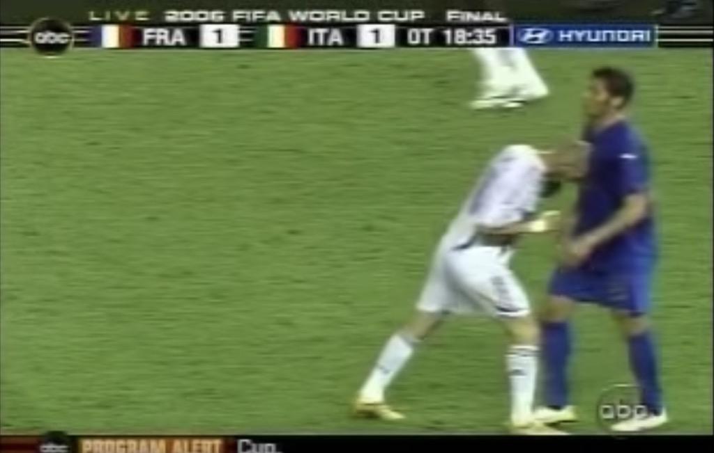 zinedine zidane world cup crazy live tv moments