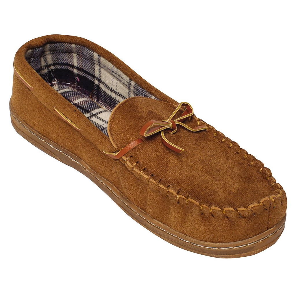Men's moccasin from Dollar General