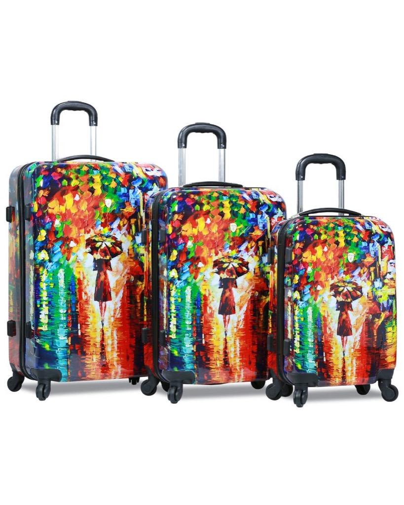 Parisian luggage set