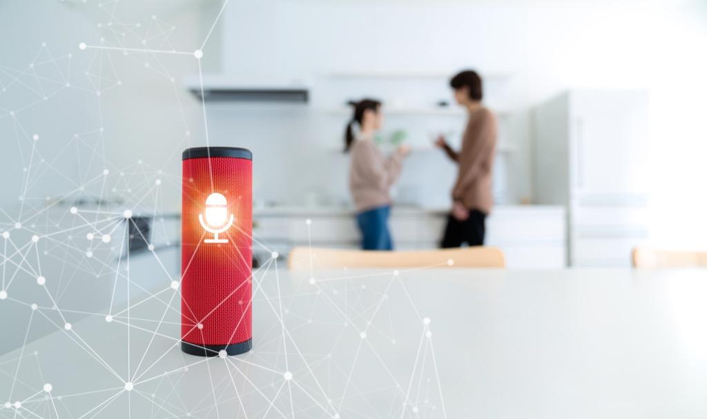 artificial intelligence speaker in a smart home