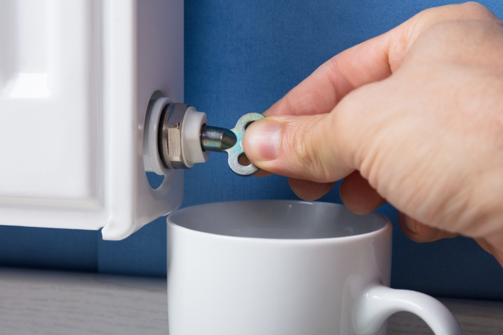 clean radiator lines home maintenance tasks
