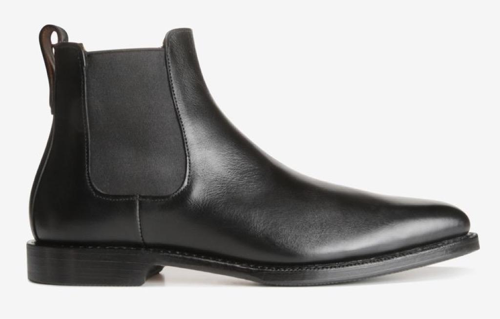 black Allen Edmondschelsea boots