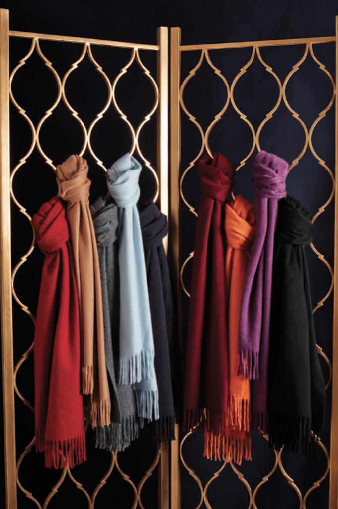 brooks brothers cashmere scarves