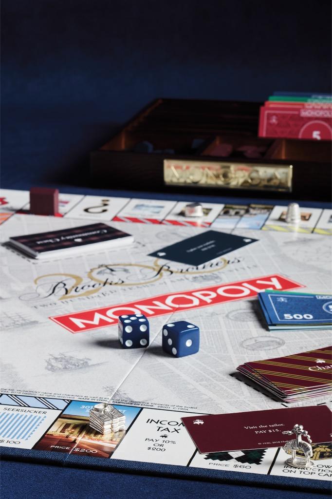 brooks brothers 200 anniversary monopoly