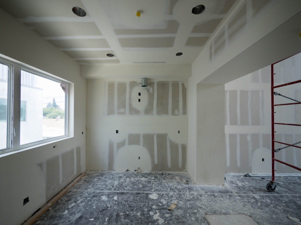 framing room home damage